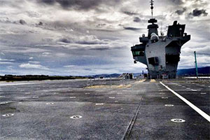 Amateur Drone Pilot Makes Unauthorized Landing on Deck of Britain's Biggest Aircraft Carrier