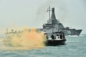 Singapore Holds Maritime Security Exercise Amid Terror Fears