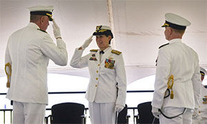 Coast Guard Force Readiness Command Holds Change of Command