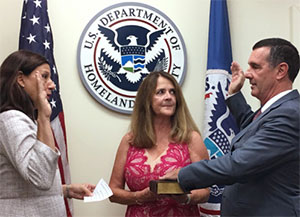 David Pekoske Sworn in as 7th TSA Administrator