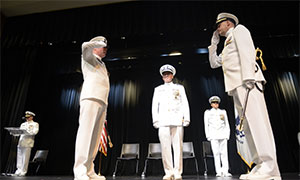 New Coast Guard Captain of The Port Takes Command of Northern Texas