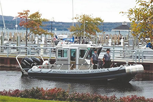 DNR Patrol Boat Dedicated To Honor Fallen Conservation Officer