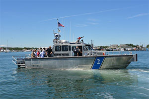 Montauk Port Security Vessel Commissioned On Wednesday