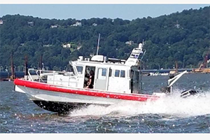 Rockland Sheriff's Office To Christen New Hudson River Patrol Boat