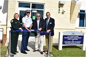 Port Canaveral Hosts Opening Ceremony for New Port Security Operations Center