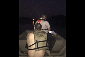 Water Rescue Leads to Investigation
